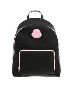 Рюкзак с розовой отделкой 30х14х37 см детский Moncler