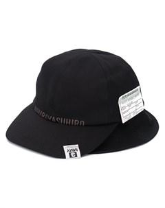 Шляпа с логотипом Maison mihara yasuhiro