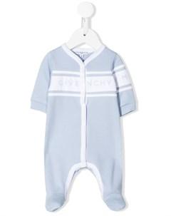 пижама с логотипом Givenchy kids