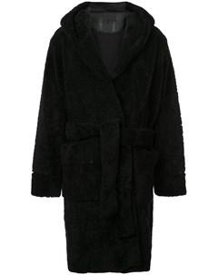 пальто в стилистике халата Alexander wang