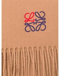 шарф с вышивкой Loewe