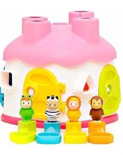 Cotoons Домик развивающая игрушка сортер Smoby