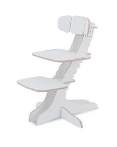 Растущий детский стул Ergosmart White Цвет сиденья и спинки стула Белый 4101 Цвет каркаса Белый 4101 Kandle