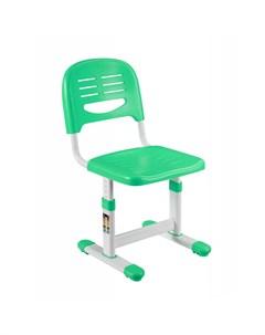 SST3 Детский стул Цвет каркаса Белый Цвет товара Зеленый Fundesk