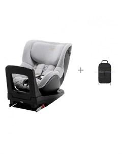 Автокресло Dualfix M i Size Nordic Grey Special Highline и органайзер для автомобильного сидения Britax roemer