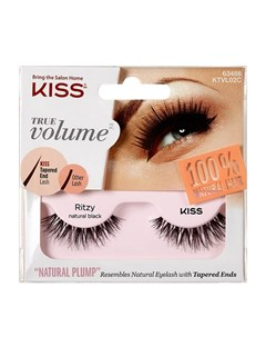 Накладные ресницы True Volume Lash Ritzy KTVL02C Kiss