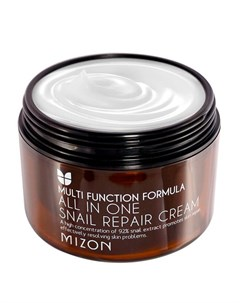 Крем для лица All in One Snail Repair Cream Super Size Mizon