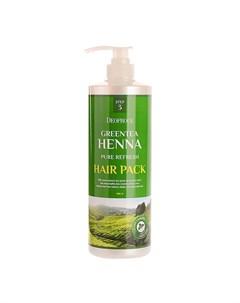 Маска для волос Greentea Henna Pure Fresh Hair Pack Deoproce
