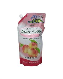 Гель для душа Peach Body Soap 1000 мл Wins