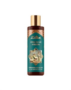 Бальзам для волос Herbal Balsam Hydrating Ethiopian Rose and Flax Seeds Zeitun