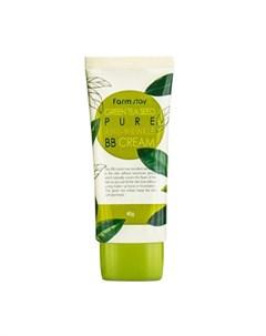 ВВ крем для лица Green Tea Seed Pure Anti Wrinkle BB Cream Farmstay