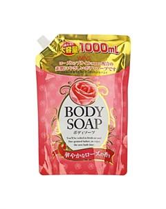 Гель для душа Rose Body Soap 400 мл Wins