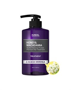 Кондиционер для волос Honey Macadamia Hair Treatment Acacia Moringa Kundal