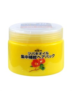 Маска для волос Camellia Oil Concentrated Hair Pack Kurobara