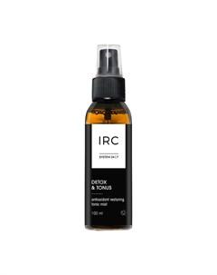 Тоник мист для лица IRC Detox Tonus Antioxidant Restoring Tonic Mist 100 мл Irc 24|7