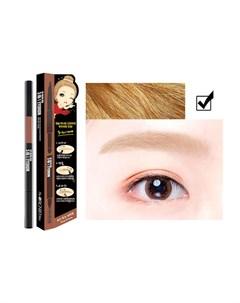 Тени карандаш для бровей 3 In 1 Eyebrow Цвет Gold Blond Светлый The orchid skin