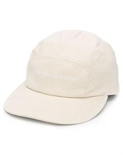 кепка с вышитым логотипом White mountaineering