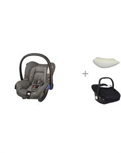 Автокресло Citi SPS с подушкой вкладышем ProtectionBaby и накидкой на автокресло Forest Maxi-cosi