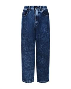 Синие джинсы boyfriend Parosh