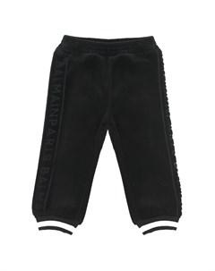 Спортивные брюки с контрастными полосками на манжетах детские Balmain