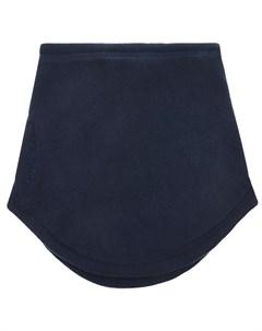 Темно синий шарф из флиса детское Poivre blanc