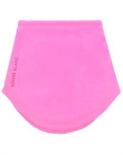 Розовый шарф из флиса детский Poivre blanc