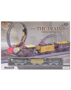 Hk industries 4118 набор железная дорога мертвая петля поворот с подъемом Hk industries