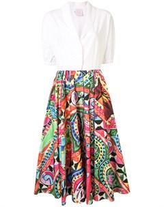 Платье рубашка с принтом Stella jean