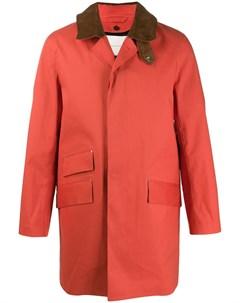 пальто Cullen с ремешком на воротнике Mackintosh