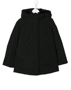 пальто с капюшоном Woolrich kids