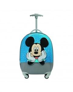 Чемодан Disney by Ultimate 2 0 MICKEY LETTERS Микки алфавит Samsonite