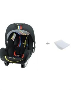 Автокресло Beone Grafik и вкладыш для горизонтального положения в автокресло Автомалыш Nania