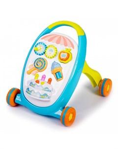 Ходунки Развивающая игрушка каталка Move Play Sweets Babyhit