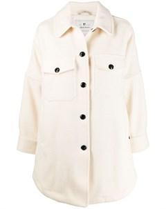 пальто с закругленным подолом Woolrich