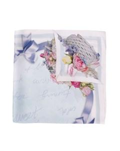 платок Fantasia с цветочным принтом Monnalisa