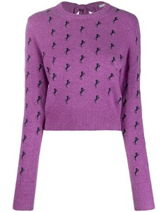 свитер с узором Chloe