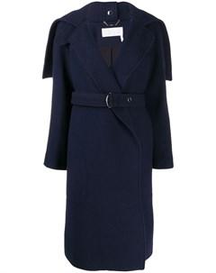 пальто с поясом Chloe