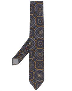 галстук с абстрактным принтом Dell'oglio