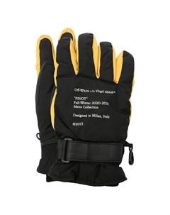 Комбинированные перчатки Off-white