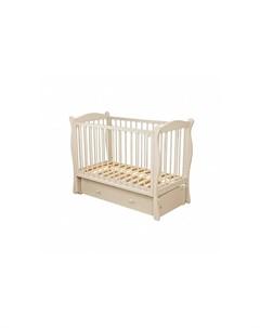 Детская кроватка С 742 Уралочка Можга (красная звезда)