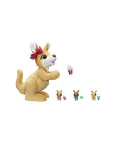 Интерактивная игрушка Набор игровой Кенгуру Джози и ее малыши Furreal friends
