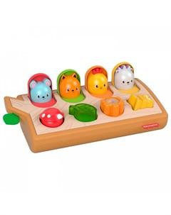 Развивающая игрушка Игровой набор с животными Fisher price