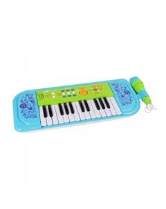 Музыкальный инструмент Синтезатор Sing Along Piano 25 клавиш 539A blue Potex
