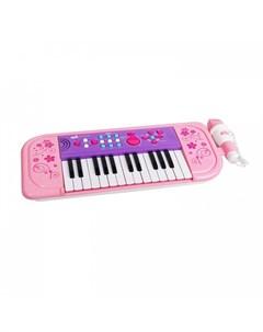 Музыкальный инструмент Синтезатор Starz Sing Along Piano 25 клавиш 539B pink Potex