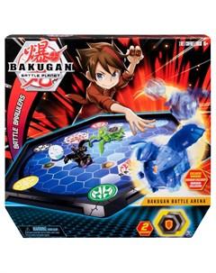 Набор игровой Bakugan с ареной и фигуркой трансформером Spin master