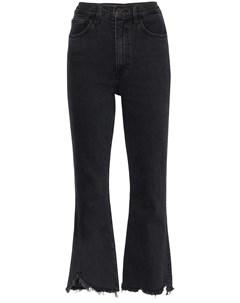 расклешенные джинсы с бахромой 3x1
