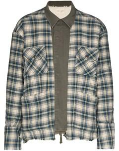 Куртка рубашка в клетку Greg lauren