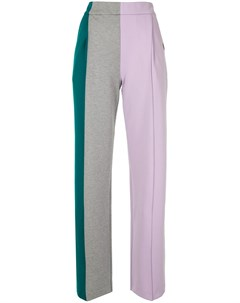 Спортивные брюки в стиле колор блок Maison mihara yasuhiro