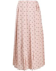 юбка с логотипом VLogo Valentino