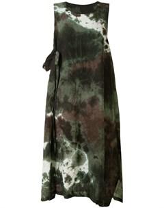 Платье без рукавов с принтом тай дай Y's